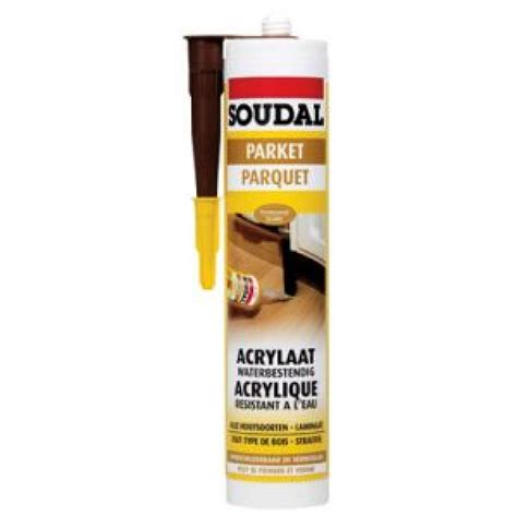 pate a bois pour parquet mastic de rebouchage en acrylique pour parquet 310 ml soudal bricozor