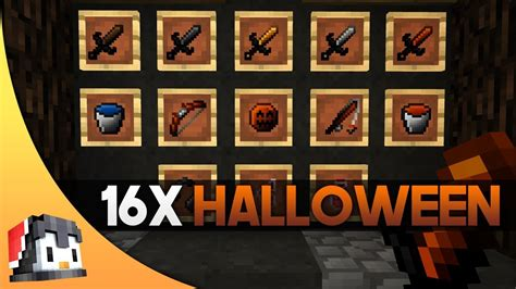 Halloween 16x Mcpe Pvp Texture Pack Fps Friendly Youtube