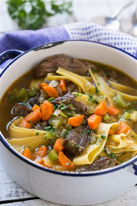 egg noodle soup beef and egg noodle soup dinner at the zoo