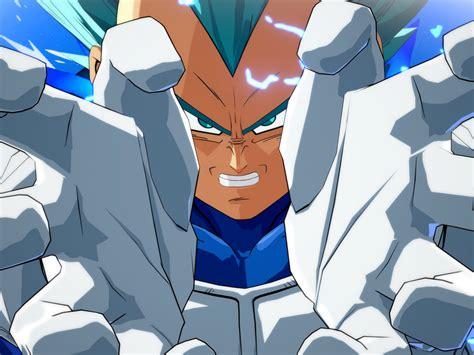 Desktop Wallpaper Dragon Ball Fighterz Vegeta Anime Boy