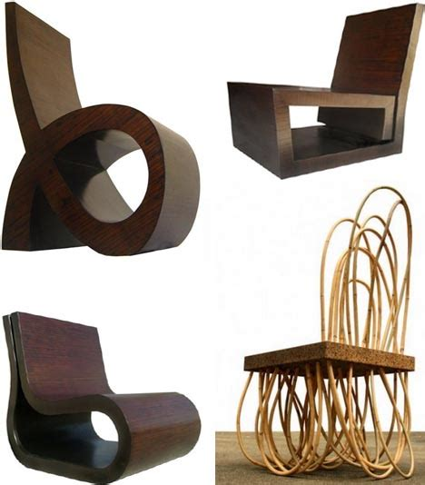 naturally made 7 hybrid artisan wood metal chairs