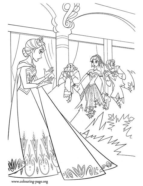 it seems that everyone in the arendelle kingdom is shocked