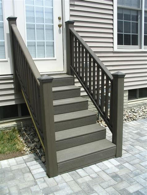 trex steps trex decking steps deck stuff