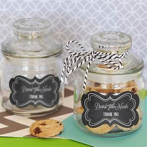 Personalized, Mini, Cookie, Jars, For, Favors