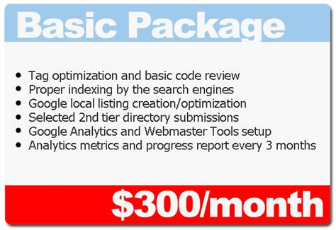 Search Engine Optimization Packages - search engine optimization packages