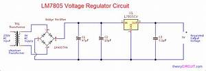 7805 Ic Circuit Diagram