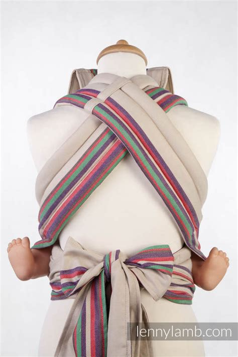 Mei Tai carrier Toddler, broken twill, 100% cotton - with ...