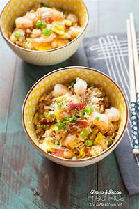 Shrimp & Bacon Fried Rice - The Little Kitchen