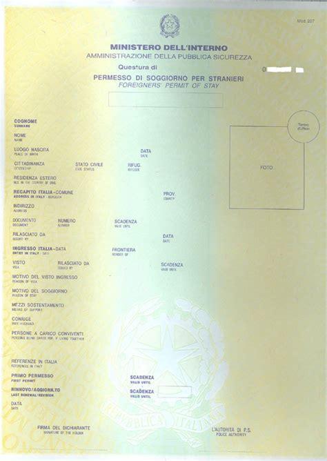 stranieri in italia permesso di soggiorno documenti necessari 171 immigrato amico il sito reciproco