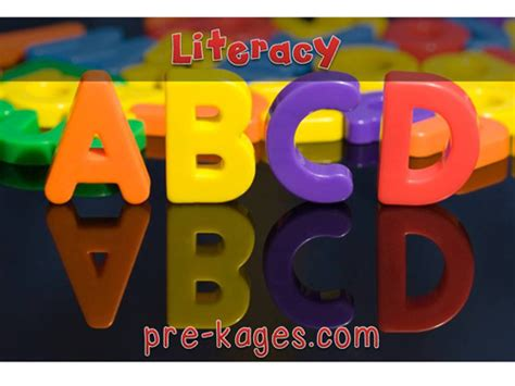 pre k emergent literacy