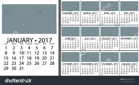 2017 Calendar Planner Design Vector Template Stock Vector Business Card Printing Velachery Sample Plans Templates Plan For Juice Factory Water Bottling Plant Thank Your Letter Samples Mission Statement Educational Services Tampa