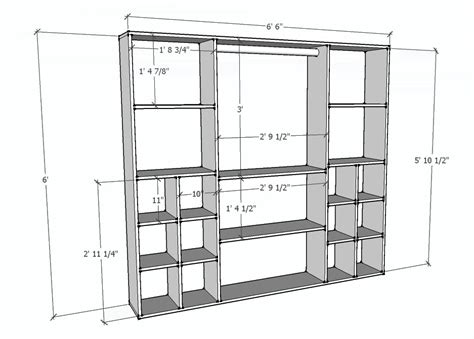 how to build a closet organizer