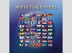 16 sets de iconos de banderas del mundo Frogx Three