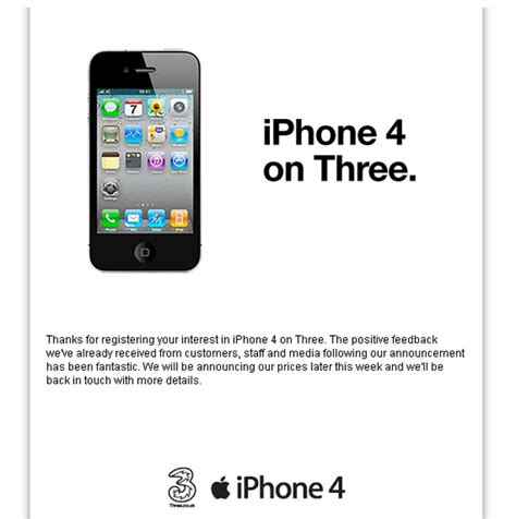 how much is an iphone 4 iphone 4 uk now available to pre order on three