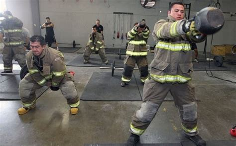 How Firefighters Stay in Shape