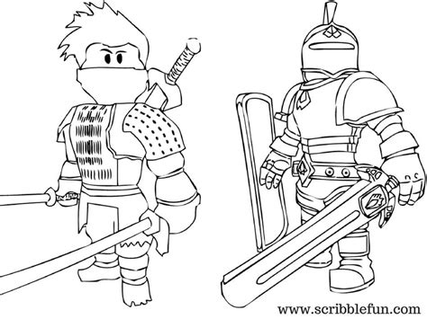 roblox coloring pages knight  ninja fgs minecraft