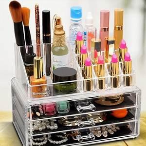 Rangement Maquillage Tiroir : grand pr sentoire de rangement maquillage tiroirs ~ Teatrodelosmanantiales.com Idées de Décoration
