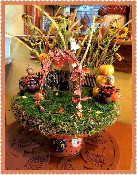 zettas aprons fall fairy garden