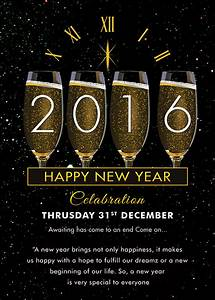 sample new year invitation templates 24 download With new year invite templates free