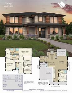 Modern, 2, Story, Home, Plans, 2021