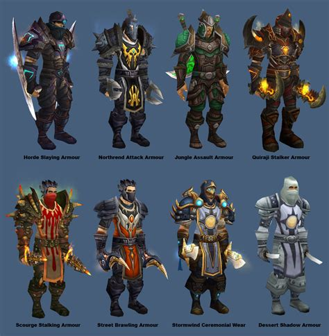 rogue transmogrify discussion prime armour campfire basic different guild