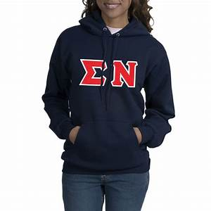 sigma nu fraternity uni sex greek letter hooded sweatshirt With fraternity letters sweatshirts