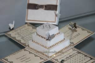 wedding invitation boxes home jinkys crafts