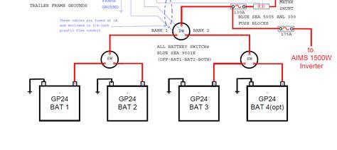 rv battery wiring diagram wiring diagram and schematics