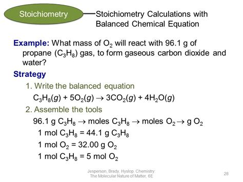 The Mole & Stoichiometry  Ppt Video Online Download