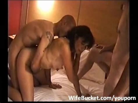 hotel threesome with amateur wife free porn videos youporn