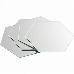 Miroirs Leroy Merlin : lot de 4 miroirs hexagonaux sensea 15 x 15 cm leroy merlin ~ Melissatoandfro.com Idées de Décoration