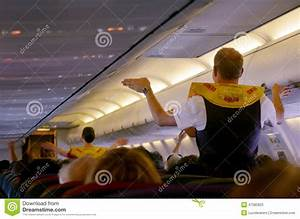 Pre-flight Safety Demonstration Editorial Stock Photo ...