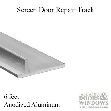 screen door track replacement sliding screen door track