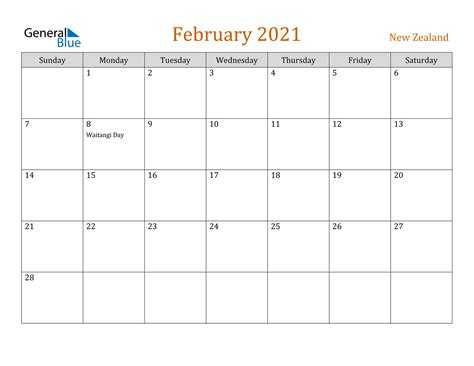The new siddha mangala mini panjika is here with all the festival dates and more. February 2021 Calendar - New Zealand