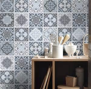 kitchen mural backsplash piastrelle adesivi vintage grigio adesivi per piastrelle