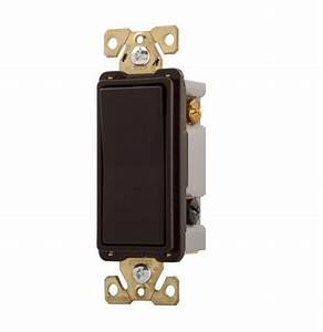 Eaton Wiring 20 Amp Double Pole Rocker Switch  Commercial