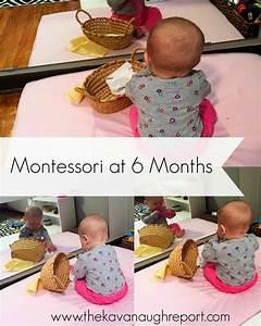 Montessori Spielzeug Baby : montessori work shelves at 6 months abigail pinterest ~ Orissabook.com Haus und Dekorationen