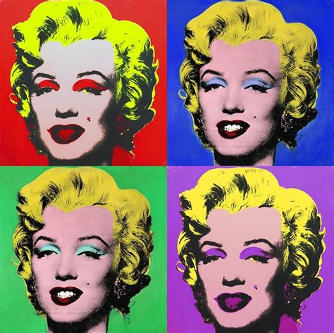 Andy Warhol Pop Art Marilyn  Wwwpixsharkcom Images