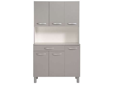 buffet cuisine conforama buffet de cuisine spoon color gris vente de buffet de