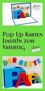 Vatertag Basteln Grundschule : basteln und mehr pop up karte basteln zum vatertag vatertagsgeschenke basteln ~ Frokenaadalensverden.com Haus und Dekorationen