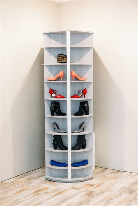 Shoe rack that spins! World famous spinning shoe wardrobe