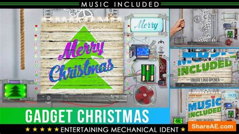 christmas logo after effects template videohive christmas logo crazy technology 187 free after
