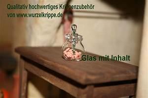 Glasgefäß Mit Deckel : wurzelkrippe krippenhobby onlineshop k 455 glasgef gef llt glasminiaturen 25 x 15 mm ~ Eleganceandgraceweddings.com Haus und Dekorationen