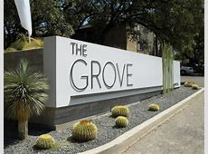 The Grove Apartments Modern Austin Largescale Landscape