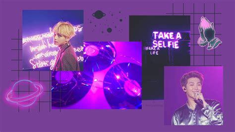 purple aesthetic kpop desktop wallpapers