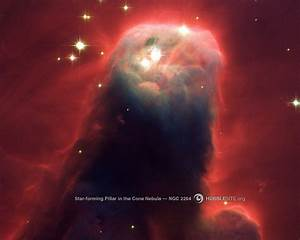 HubbleSite - Wallpaper: The Cone Nebula (NGC 2264)