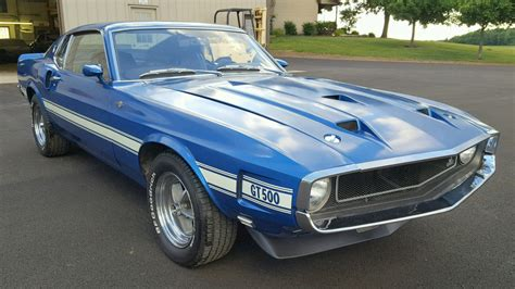 Bf Exclusive 1969 Shelby Gt500