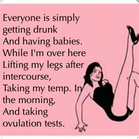 funny quotes  infertility quotesgram