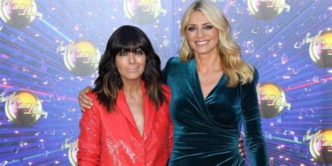 Claudia Winkleman and Tess Daly reunite for socially ...