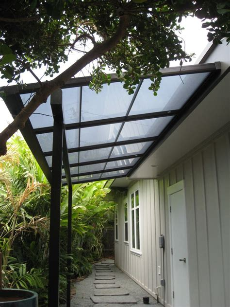 small patio cover  bearing beam  polycarbonate